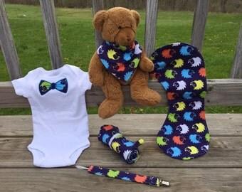 Baby Boy Gift Set - Hedgehogs