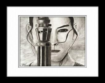 Rey - ink painting