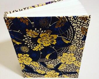 African Wax print Journal