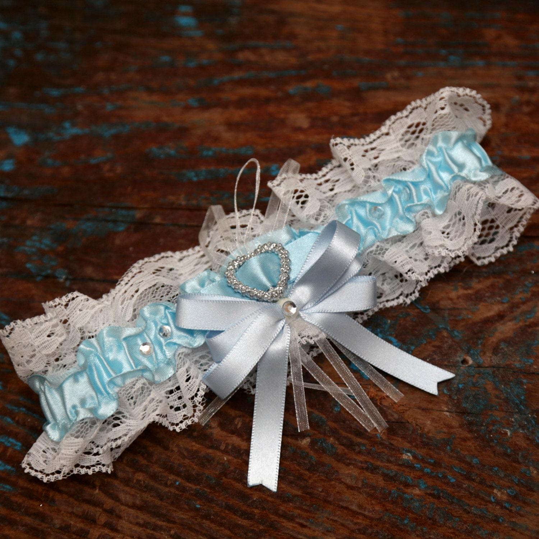 Blue Wedding Garter Uk