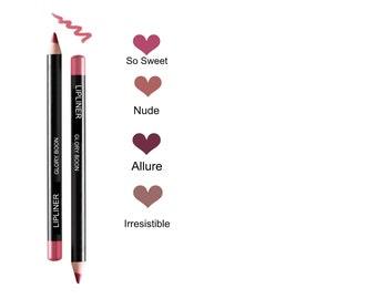 All natural lip liner, lip pencil, mineral makeup, natural makeup, bath and beauty, glory boon.