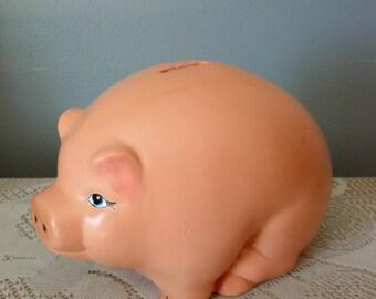 Ceramic Pig Coin Bank