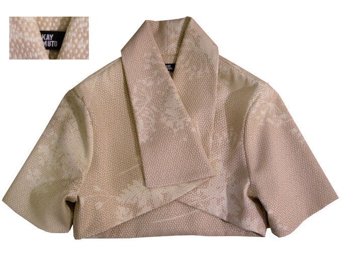 Little Kimonostyle jacket shaded pattern sandy colors soft feeling