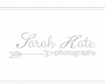 On SALE Premade Photography Logo + Watermark
