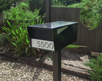 Goodwood Post Mount Mailbox HOT ROLLED STEEL!!!
