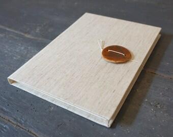 Ceramic Honey # 3-Hand-bound Journal