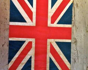 vintage british flag / Union Jack flag
