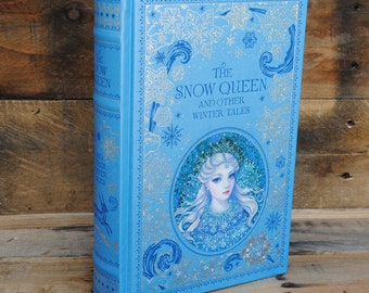 Hollow Book Safe - The Snow Queen - Leather Bound
