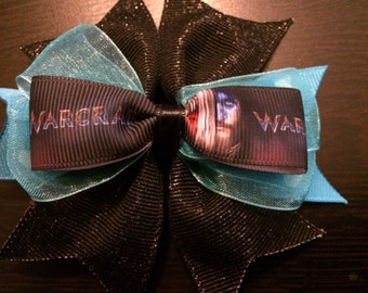 Warcraft Hair Bow