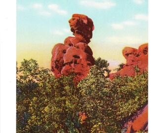 Colorado Springs Colorado Vintage Postcard (unused)