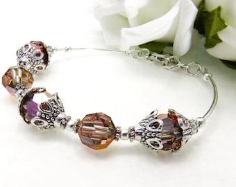 Gold Beaded Stacking Bracelet, Pearl Bracelet,Vintage Style Pearl Bracelet, Beaded Wedding Jewelry, Bridesmaid Pearl Bracelet