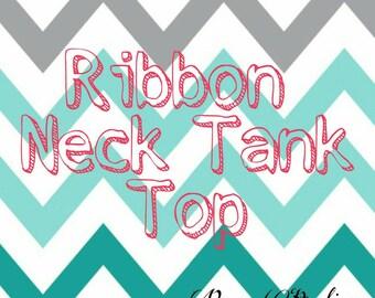 Ribbon Neck Tie