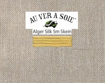 Access Commodities - Au Ver A Soie - Soie d'Alger - Color 522 - Maize Light - 5.5 Yards - By the Skein