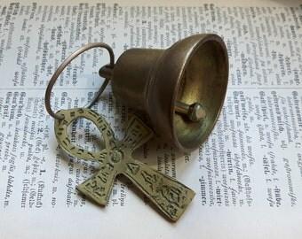 Vintage brass bell