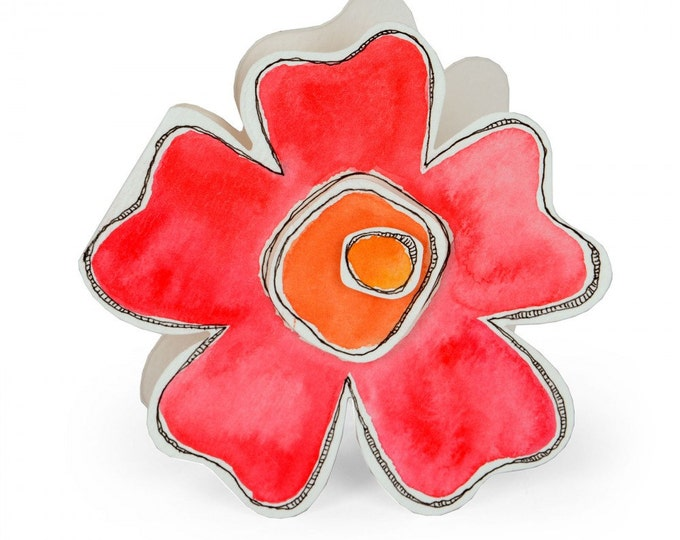 New! Sizzix Bigz Die - Flower #3 by Stephanie Ackerman 661105