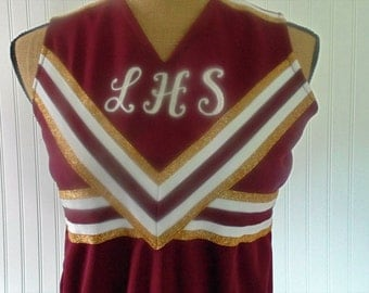 Vintage Cheerleading Outfit Cheerleader Costume Size XS-S Women's Costumes