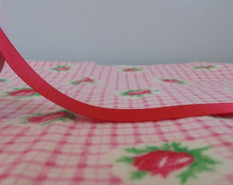 New Red Satin Ribbon 10 Yard Spool