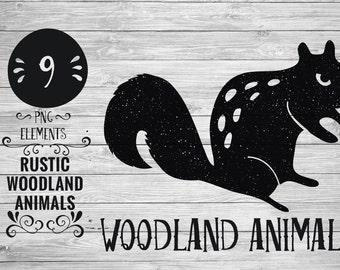 Rustic Woodland Animals