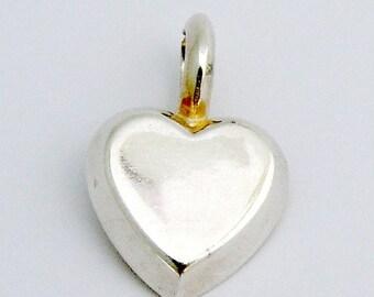 SaLe! sALe! Heart Pendant Sterling Silver
