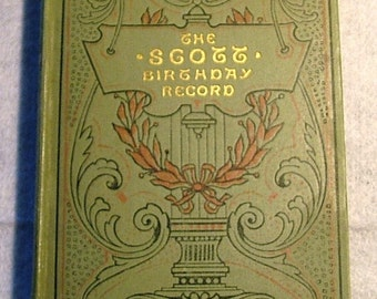 The Scott Birthday Record 1905