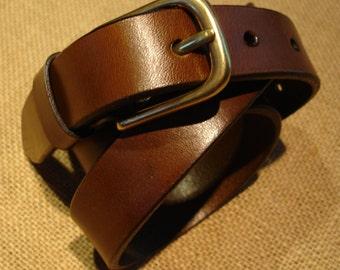 LEATHER HANDMADE BELT / Leather Belt / Belt Handmade / Belt Accessories / Belt Men / Belt Women / Red Leather Belt.