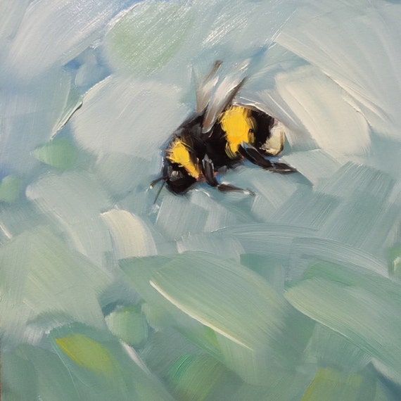 Bumble Bee Paintings Sale