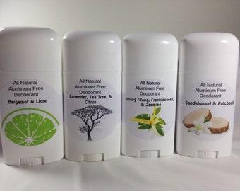 all natural stick deodorant
