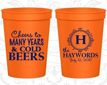 Orange Stadium Cups, Orange Cups, Orange Plastic Cups, Orange Party Cups, Orange Wedding Cups (39)