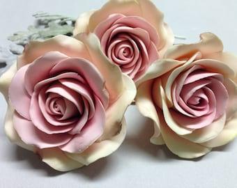Sugar dusty roses