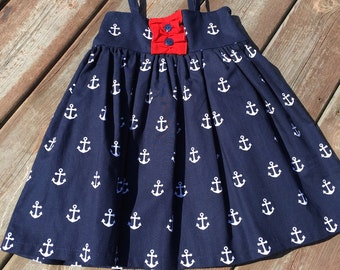 Fourth of July dress - 4th of July toddler dress - Fourth of July baby dress - 4th of July dress - patriotic dress - Fourth of July outfit
