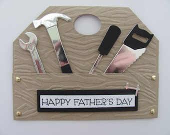 Fathers Day Card, Gifts for Dad, Tool Box Card,Handyman Cards, Handyman, Masculine Card, Dad Cards, Fathers Day Gift, Gifts for him