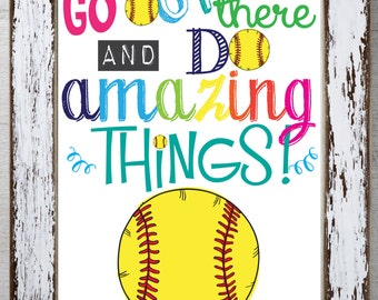 Gift ideas for softball teammates gift ftempo for Softball poster ideas