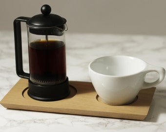 Tapered Coffee Serving Tray