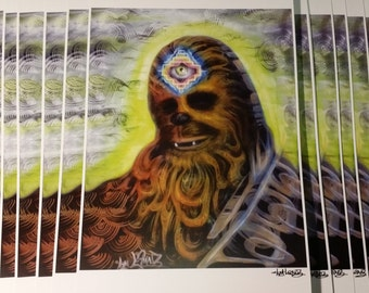 Chewie 11x17 print