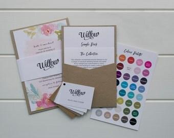 SAMPLE PACK // Wedding Stationery