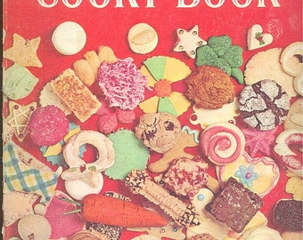 Betty Crocker's Cooky Book FIRST EDITION, First printing, 1963, cookie cookbook, vintage cook book, desserts, baking, cookie recipes