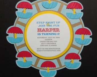 Ferris Wheel Invitation