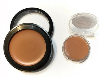 JAMOCHA Perfecting Cream Foundation - Creamy Foundation Concealer Makeup - Vegan Gluten Free