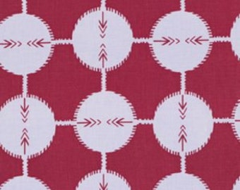 Coordinates in Plum by Anna Maria Horner from the Field Study collection for Free Spirit