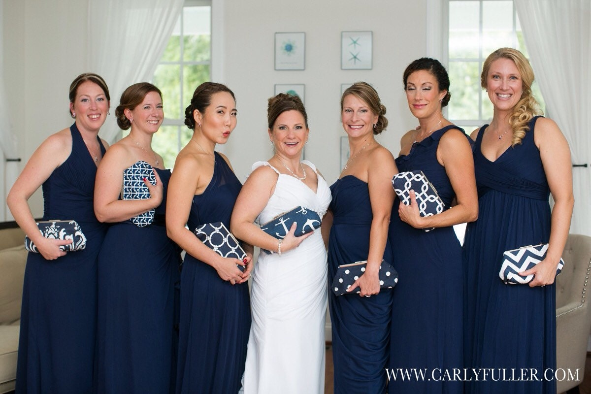 Discount for multiple clutch purse orders your choice wedding discount for multiple clutch purse orders your choice wedding clutch bridesmaid gift navy blue purse nautical wedding bridal gift ombrellifo Images