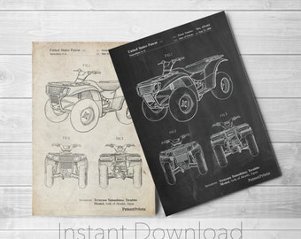Four Wheeler Printables, ATV, Four Wheeler, Outdoorsy, Sports Decor, Outdoor Wall Art, PP0902