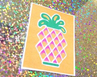 Juicy Pineapple OR Grapefruit Sticker