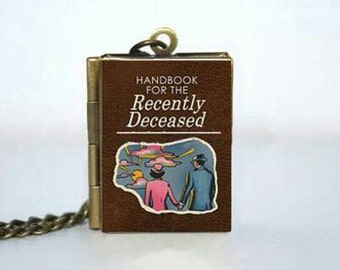Handbook for the Recently Deceased Locket Necklace
