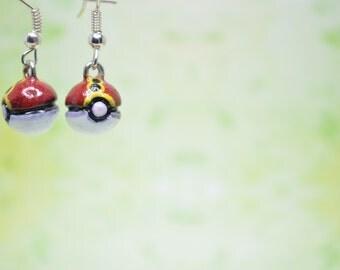 Pokeball Earrings (Part 2)