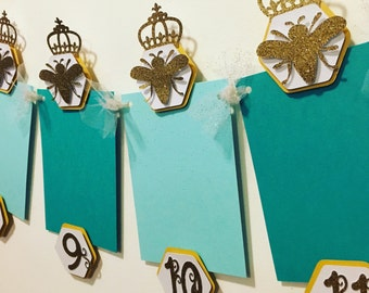 Queen Bee first year photo banner