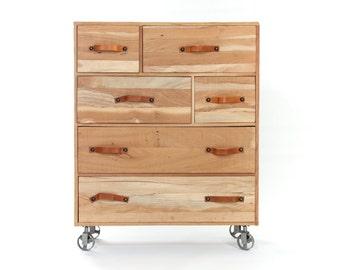 Design drawers on castors