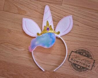 Princess Celestia, MLP Headband, My Little Pony Headband, dress up, Rainbow Dash, Fluttershy, Twilight Sparkle, Rarity, Pinkie Pie