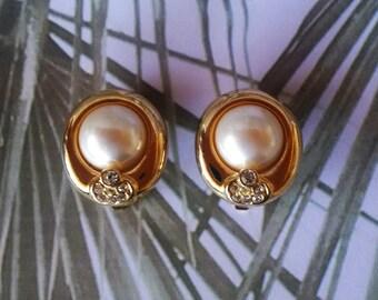 Vintage clip on earrings years
