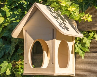 "Birdhouse - Aviary - Bird feeder ""VILLA-2"""