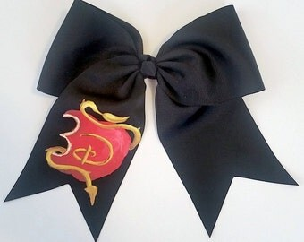 Custom Hand Painted Villian Apple Bow